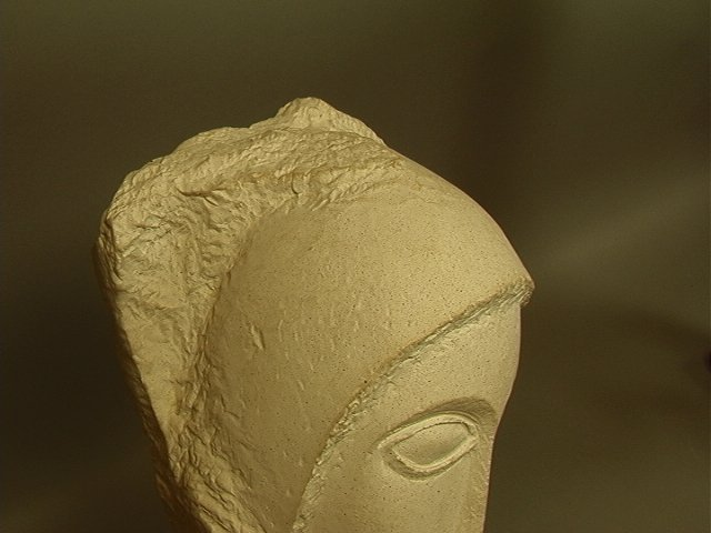 246: Modigliani Austin Prod 1985 Sculpture.  Plaster o - 4