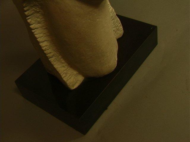246: Modigliani Austin Prod 1985 Sculpture.  Plaster o - 5