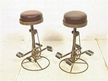 Cool 472 Pr Industrial Barstools With Bike Pedal Footrests Evergreenethics Interior Chair Design Evergreenethicsorg