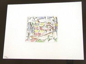 13: ROY LICHTENSTEIN  Offset Lithograph Print,  Color