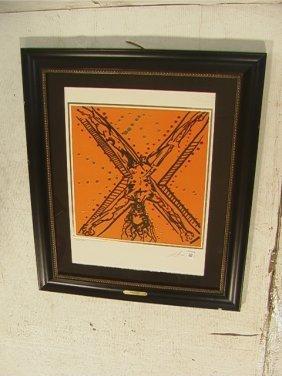 15: SALVADOR DALI Lithograph Print.  The Twelve Apost