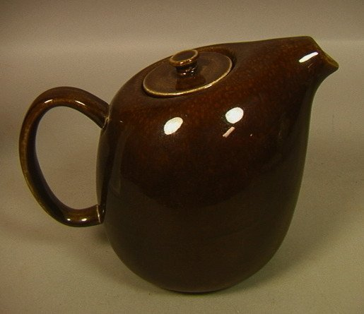 Bean Brown RUSSEL WRIGHT Coffee Pot. American Mod