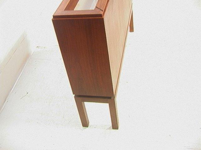 Danish Modern Teak Light Up Planter Box. Narrow R - 2