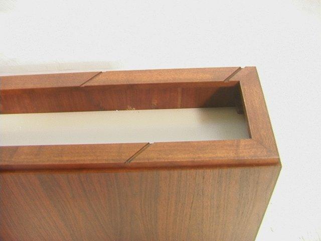 Danish Modern Teak Light Up Planter Box. Narrow R - 4