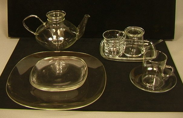 32 PCS JENA er GLAS Glass Sweden. Tea Service. Te