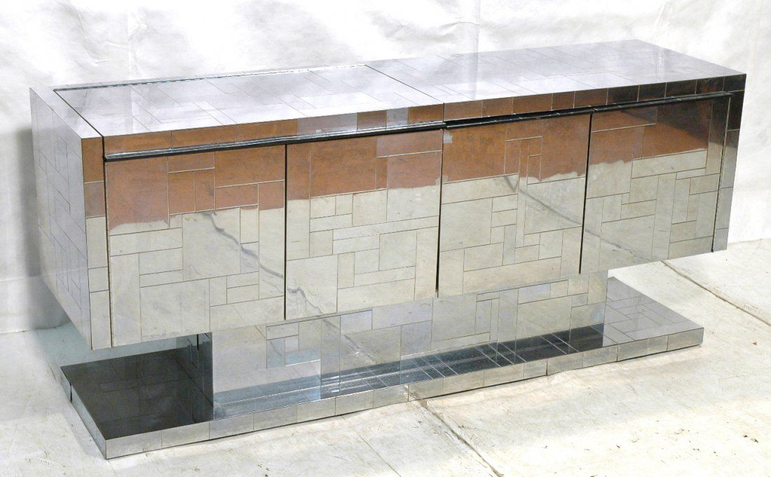 PAUL EVANS Cityscape Credenza Sideboard. All Stai