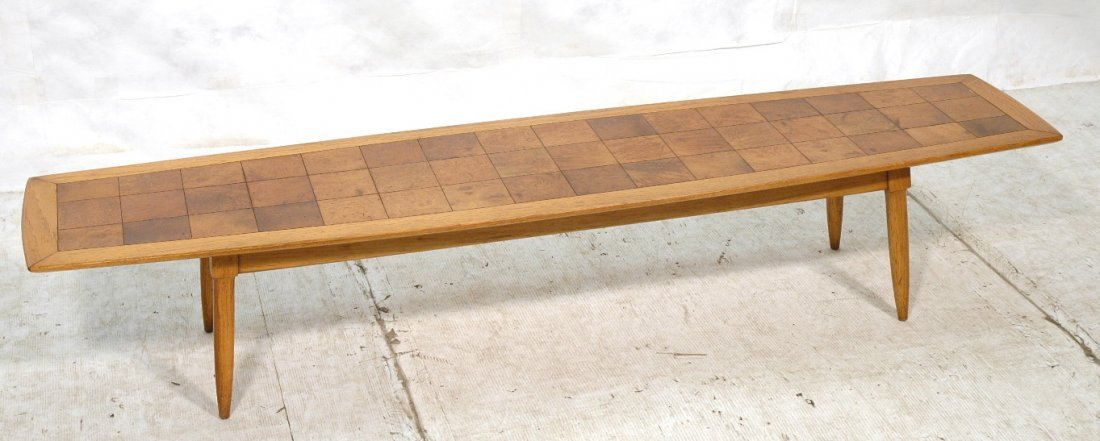 TOMLINSON SOPHISTICATE Surfboard Coffee Table. Sq
