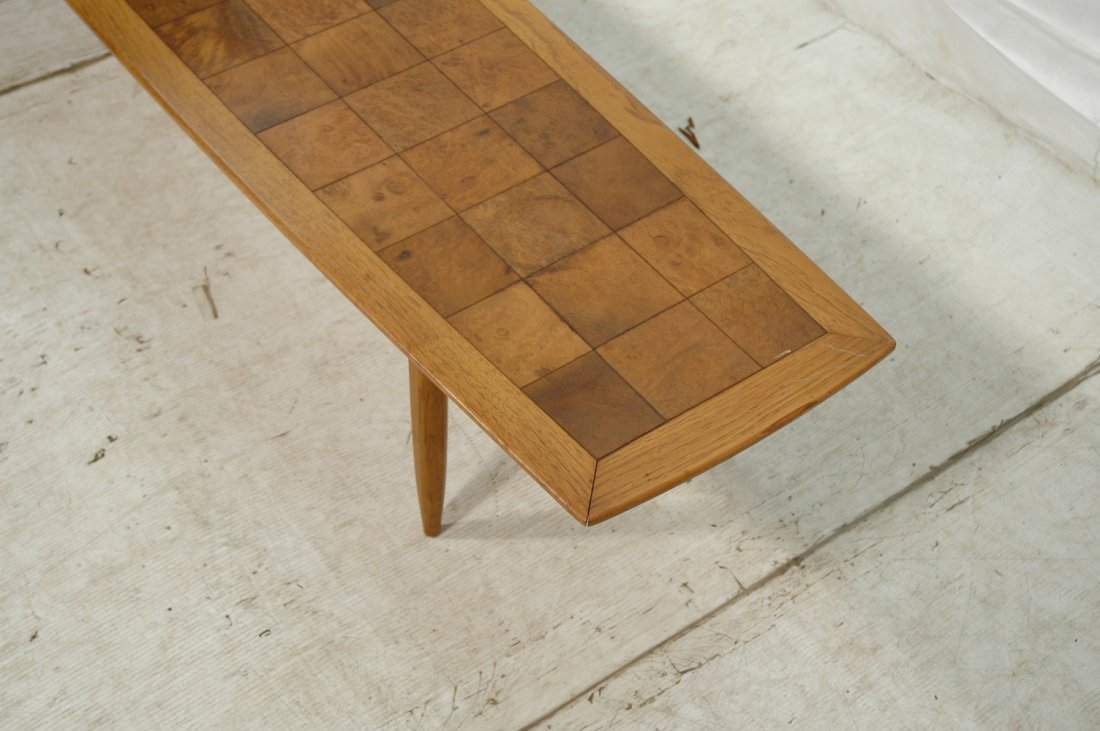 TOMLINSON SOPHISTICATE Surfboard Coffee Table. Sq - 4