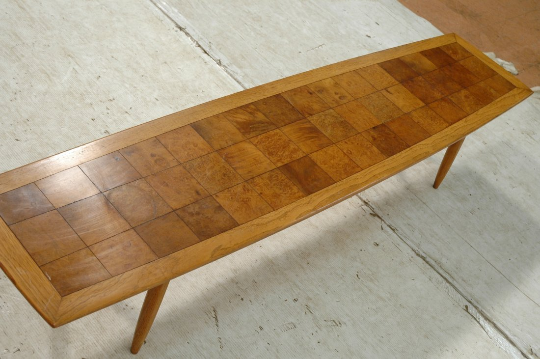 TOMLINSON SOPHISTICATE Surfboard Coffee Table. Sq - 6