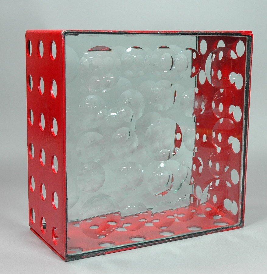 FELICIANO BEJAR signed MAGISCOPE Red Metal Box. R
