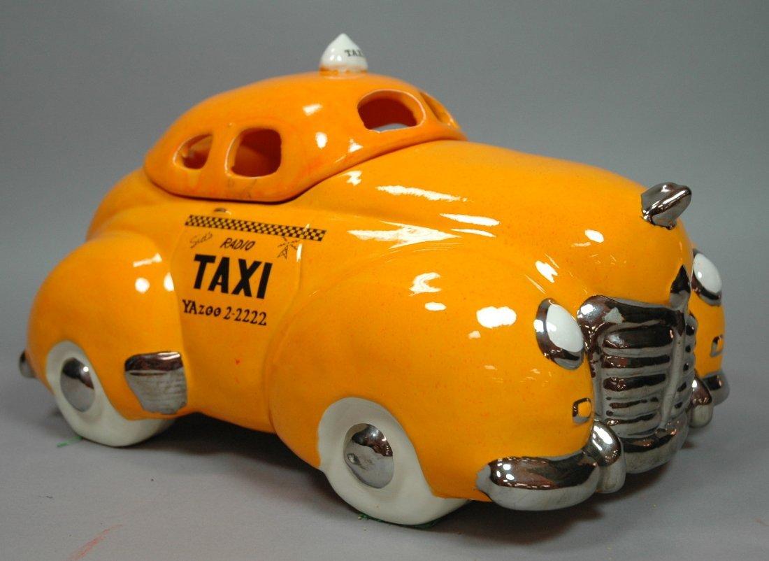 GLENN APPLEMANN 1978 Taxi Cab Cookie Jar. Collect