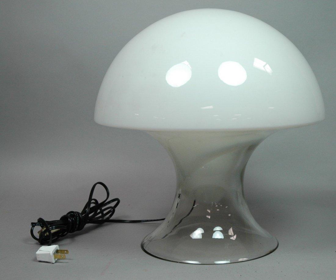 VISTOSI Art Glass Murano Italian Mushroom Lamp. C