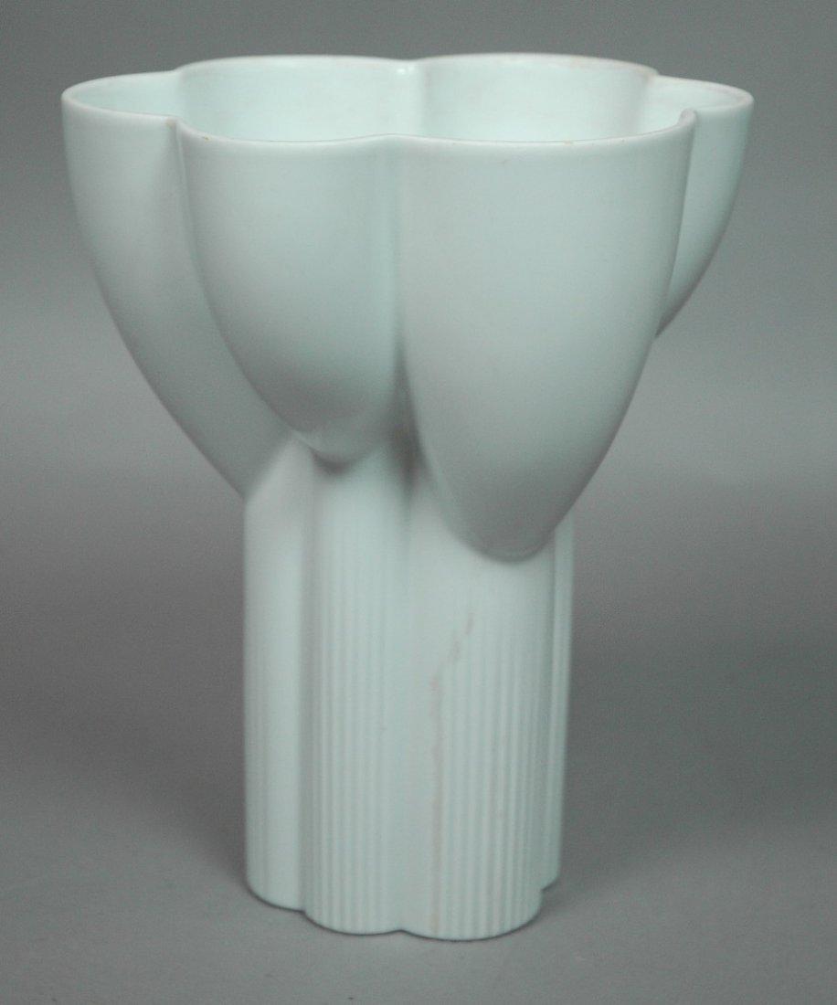 ROSENTHAL STUDIO LINE White Porcelain Ceramic Vas