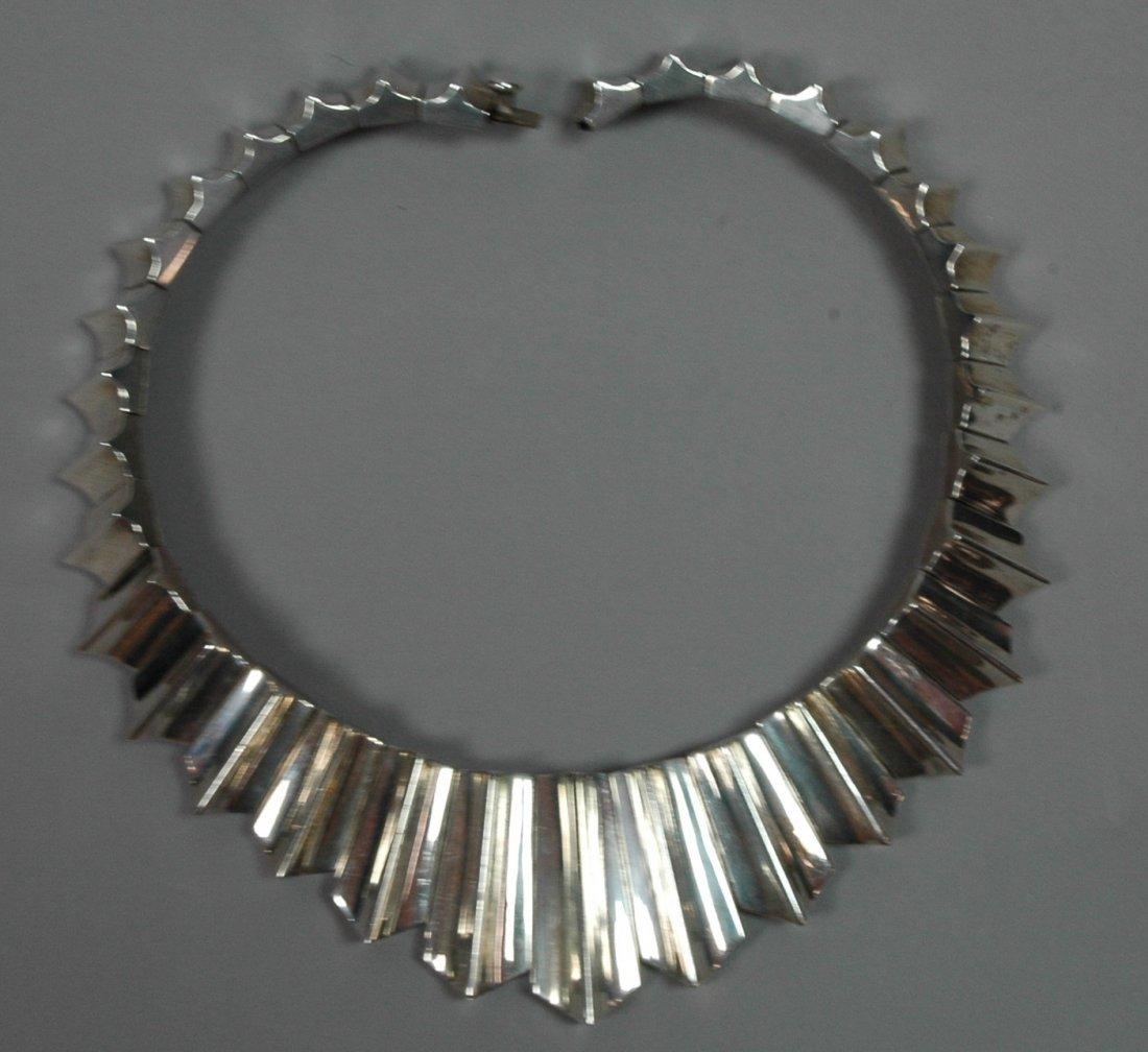 MEXICAN Sterling SIlver Necklace. ANTONIO PINEDA design