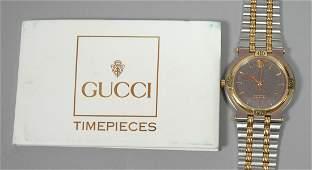 GUCCI Stainless Steel Mans Watch Model 9000M Se