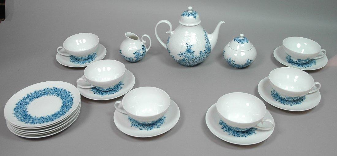 Rosenthal Studio Line Tea Service.  Bjorn Wiinbla