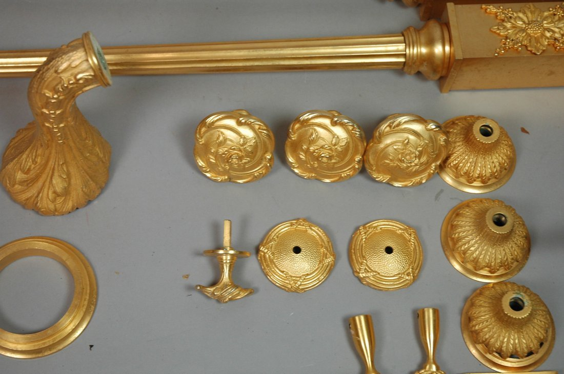 24pc SHERLE WAGNER Gold Plated Bathroom Accessori - 4