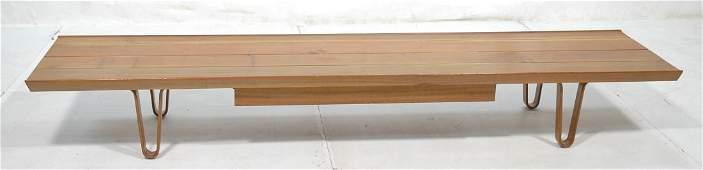 EDWARD WORMLEY for DUNBAR Low Coffee Table Bench