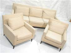 3pc Living Room Set Paul McCobb style Sofa Couch