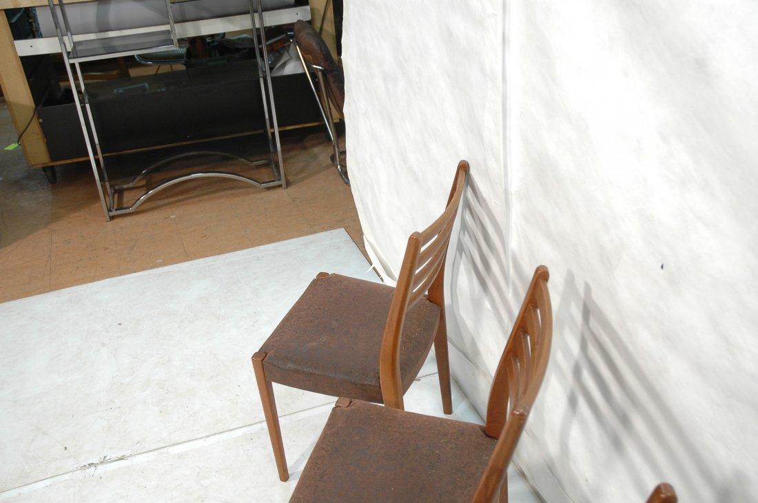 Set 4 SVEGARDS MARKARYD Swedish Teak Dining Chair - 10