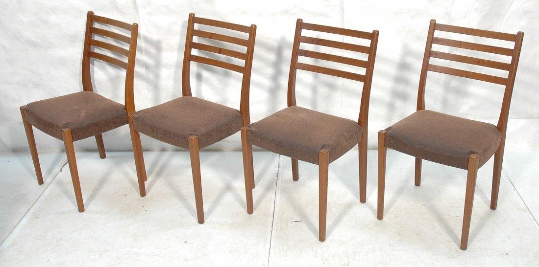 Set 4 SVEGARDS MARKARYD Swedish Teak Dining Chair