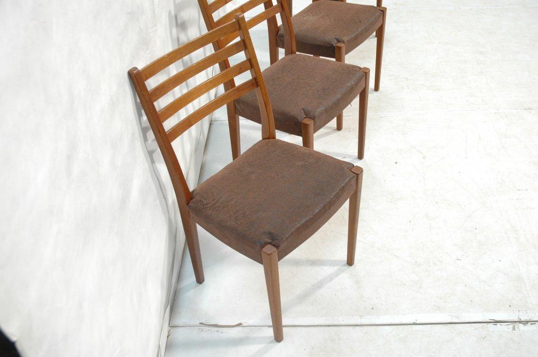 Set 4 SVEGARDS MARKARYD Swedish Teak Dining Chair - 2