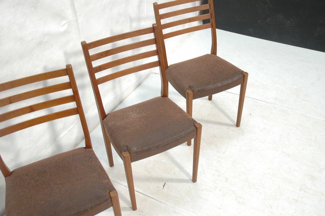 Set 4 SVEGARDS MARKARYD Swedish Teak Dining Chair - 4