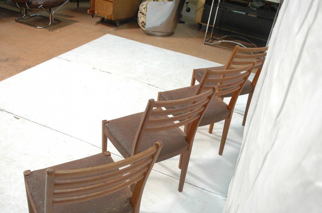 Set 4 SVEGARDS MARKARYD Swedish Teak Dining Chair - 5