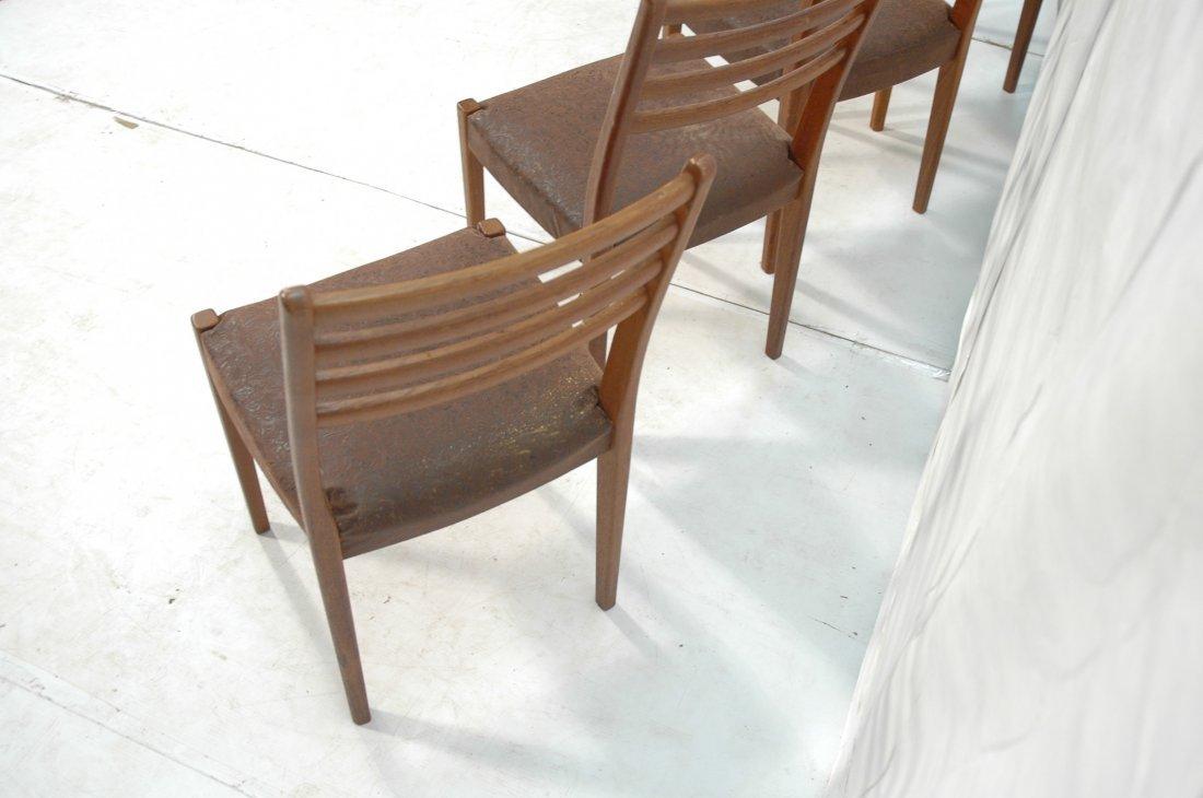 Set 4 SVEGARDS MARKARYD Swedish Teak Dining Chair - 6