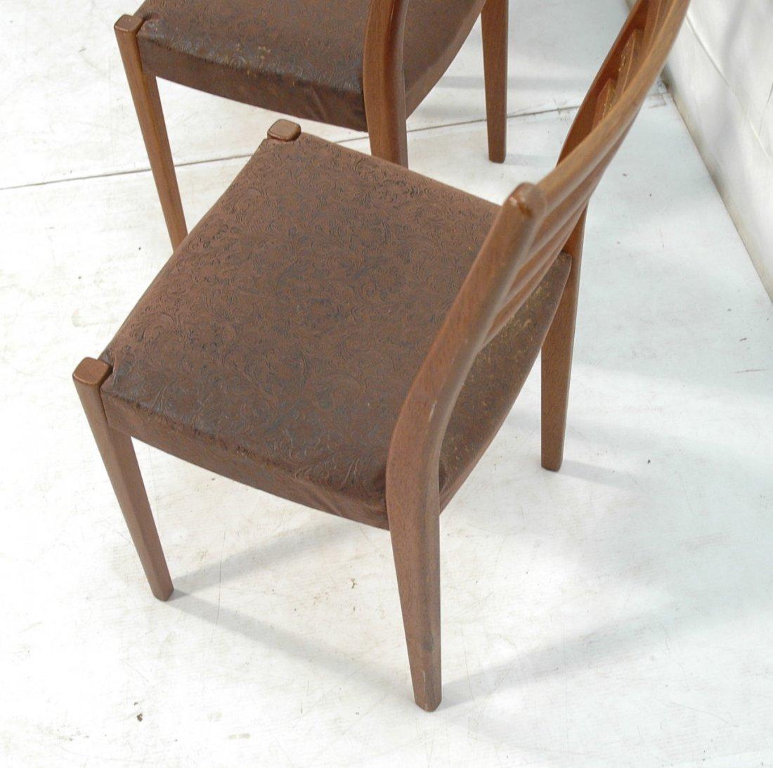 Set 4 SVEGARDS MARKARYD Swedish Teak Dining Chair - 7