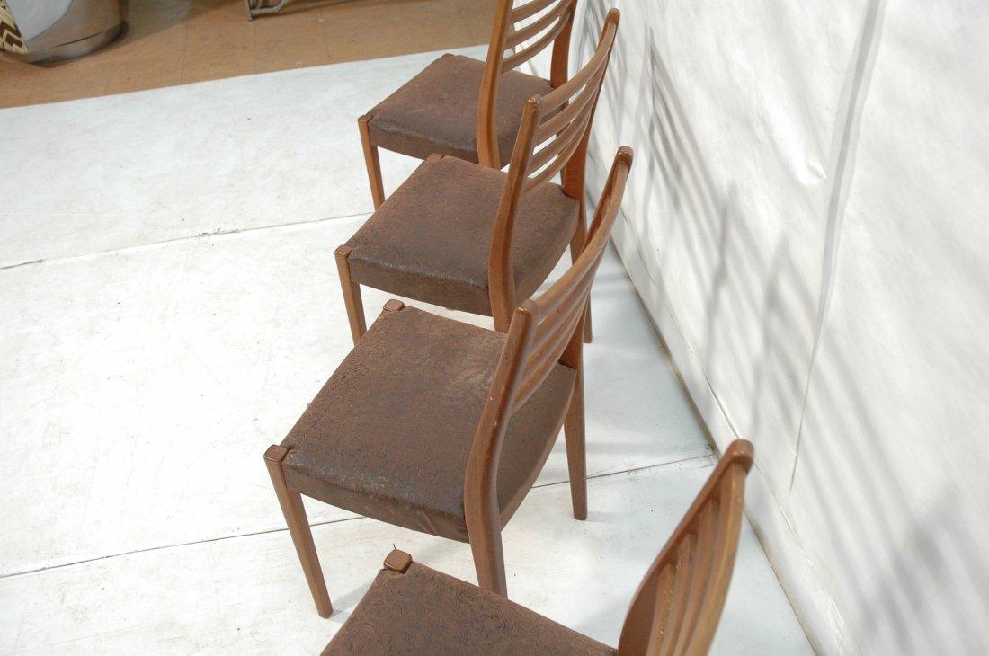 Set 4 SVEGARDS MARKARYD Swedish Teak Dining Chair - 8