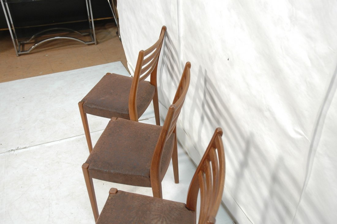 Set 4 SVEGARDS MARKARYD Swedish Teak Dining Chair - 9