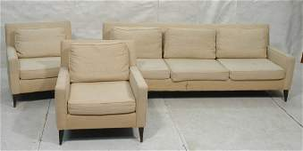 3pc Living Room Set Sofa Couch  2 Lounge Chairs