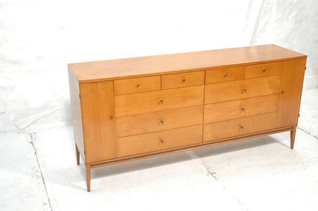 Paul McCobb Low Chest Dresser Credenza. Drawers d