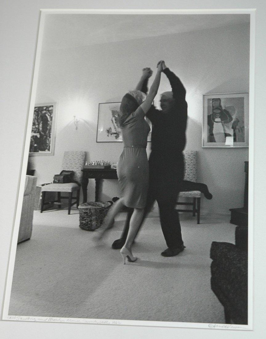 Carl Sandberg and Marilyn Monroe Beverly Hills CA