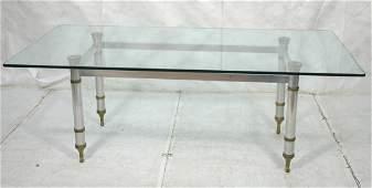 Stamped JANSEN PARIS Regency style Dining Table.