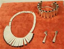 Sterling & Onyx ANTONIO PINEDA Matchstick Necklace Set