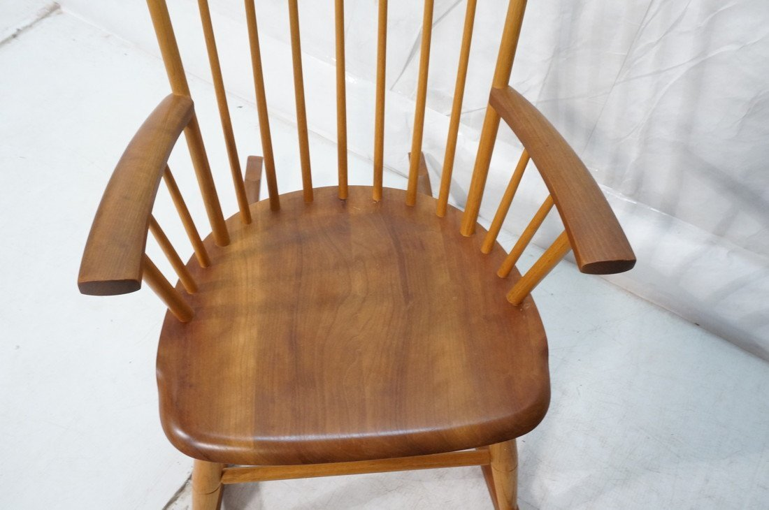 THOMAS MOSER Cabinetmakers Rocker Rocking Chair. - 2