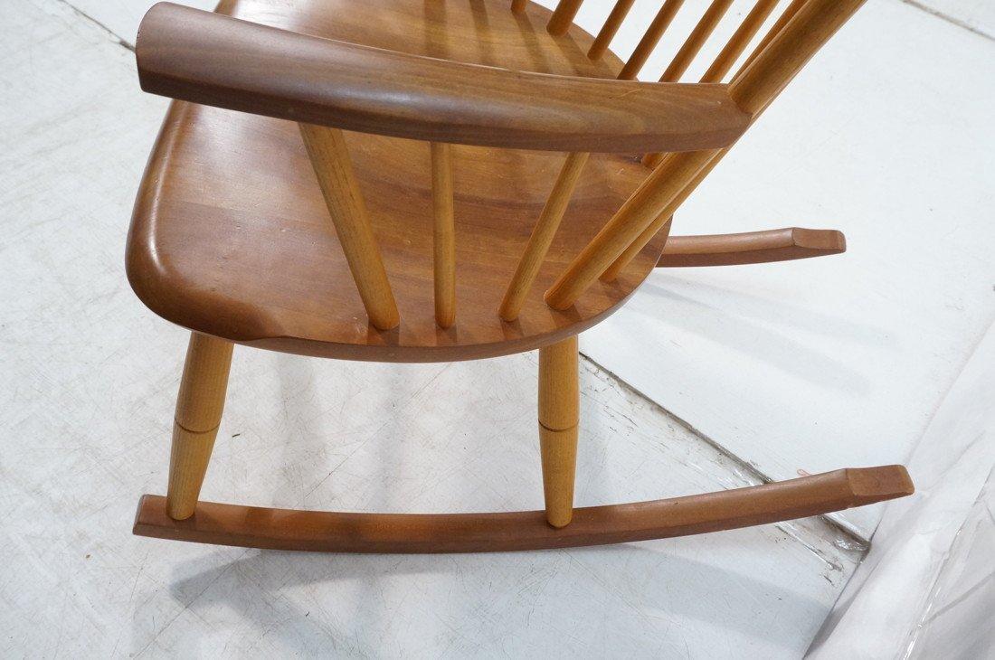 THOMAS MOSER Cabinetmakers Rocker Rocking Chair. - 4