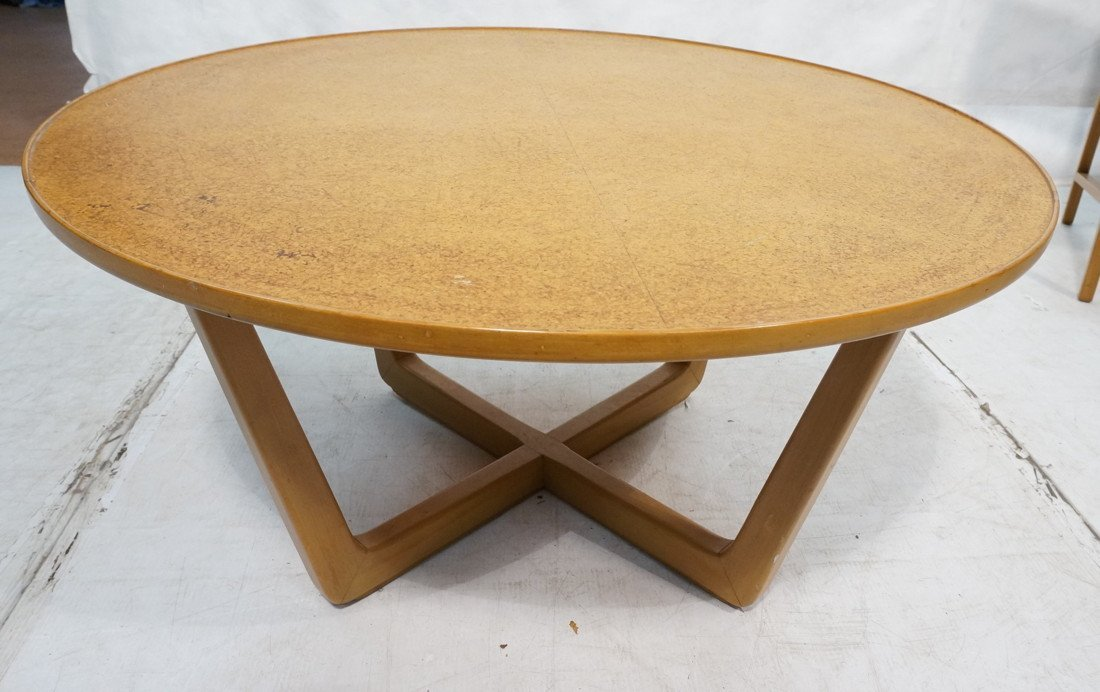 Wormley for drexel coffee table round cor edward wormley for drexel coffee table round cor geotapseo Image collections