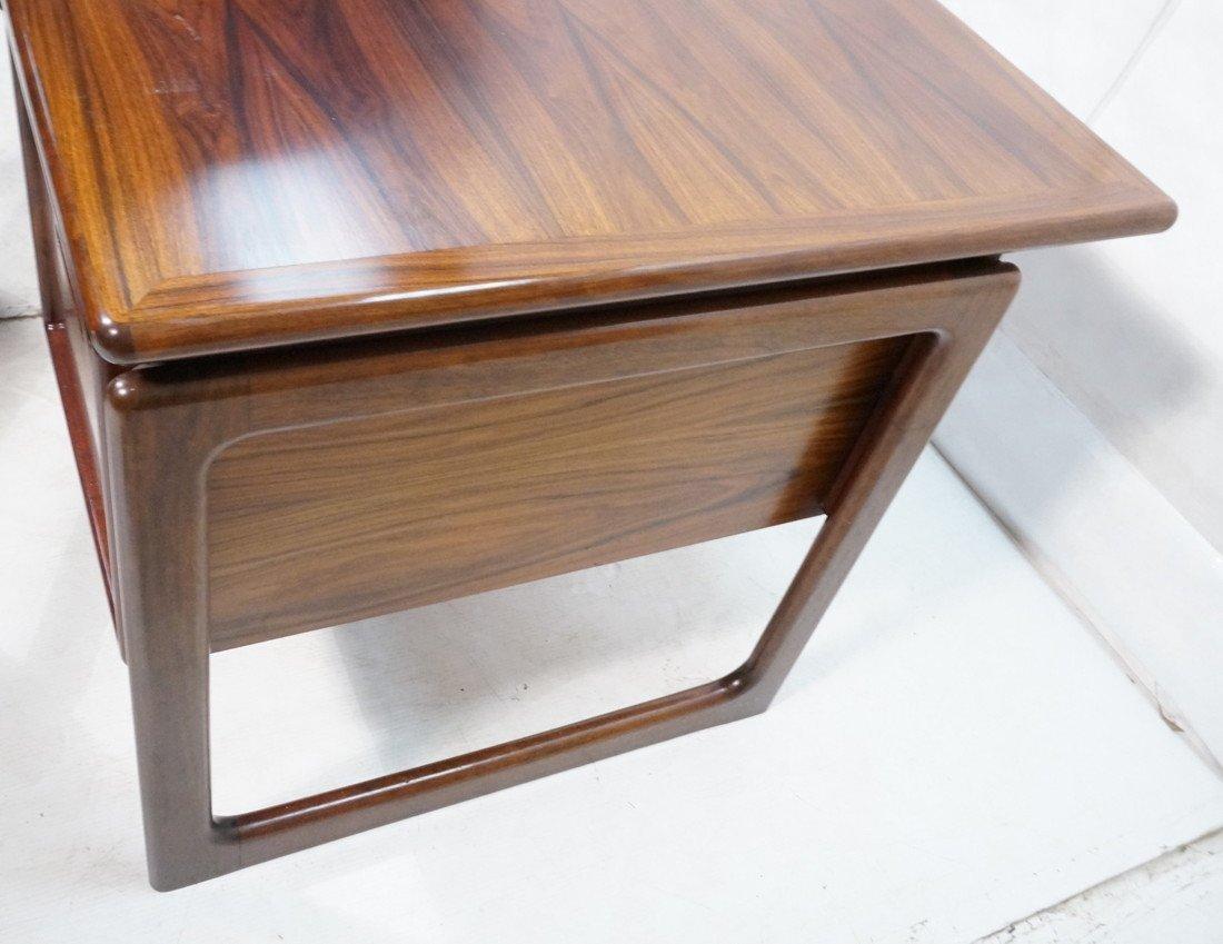 DYRLUND Danish Rosewood Desk & Office Chair. Four - 6