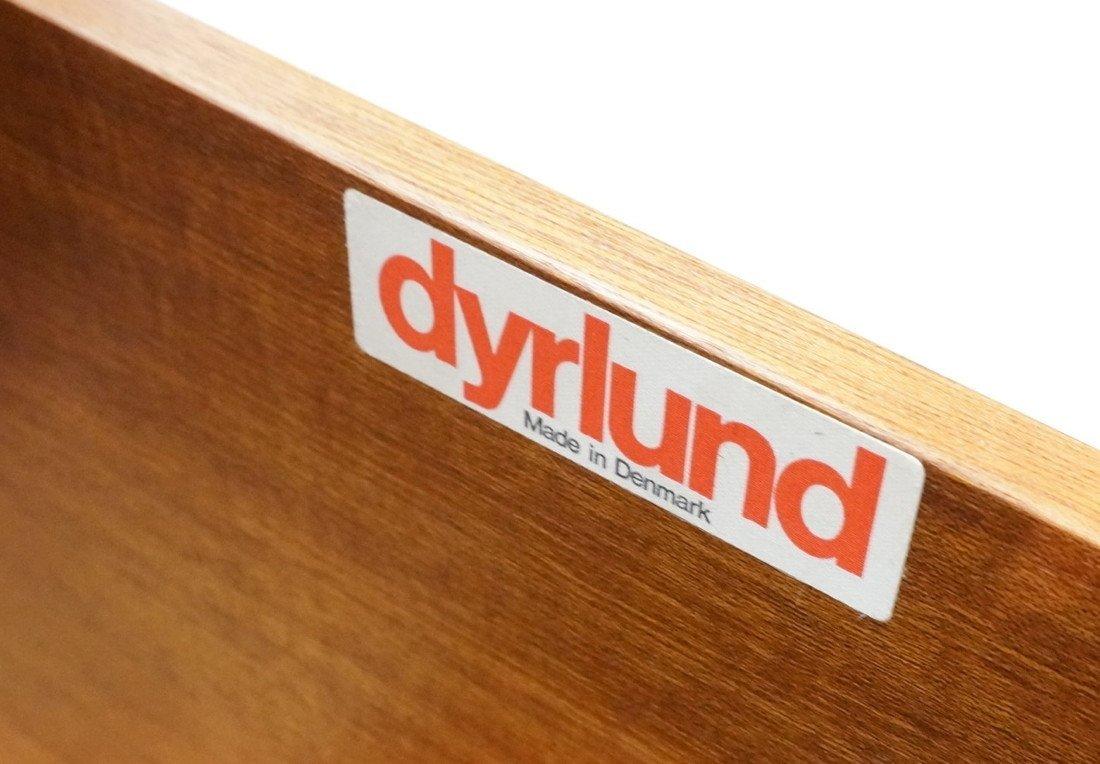 DYRLUND Danish Rosewood Desk & Office Chair. Four - 7