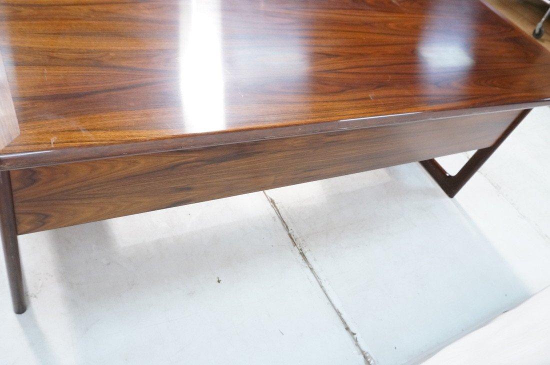 DYRLUND Danish Rosewood Desk & Office Chair. Four - 9