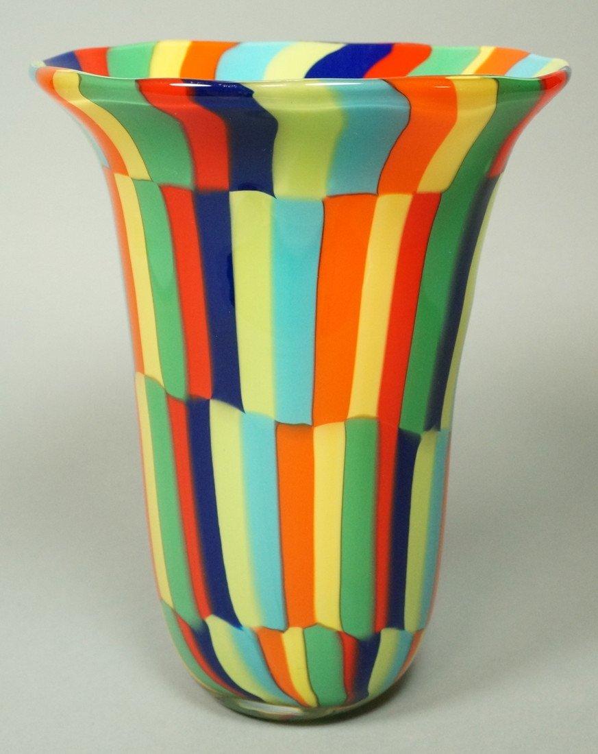 Murano art glass vase multi colored tile signed murano art glass vase multi colored tile reviewsmspy
