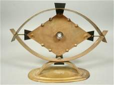 Table Sculpture signed MANUAL FELGUEREZ Brass Mi