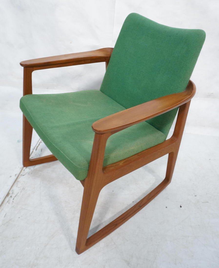 Sigvard Bernadotte Danish Teak Rocking Chair.  Me