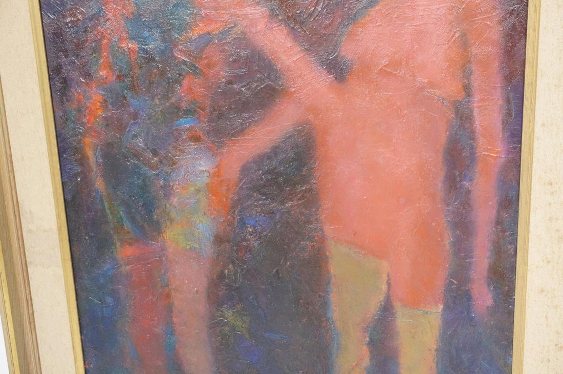 MARTIN SUMERS Oil Painting on Canvas. Two Figures - 4