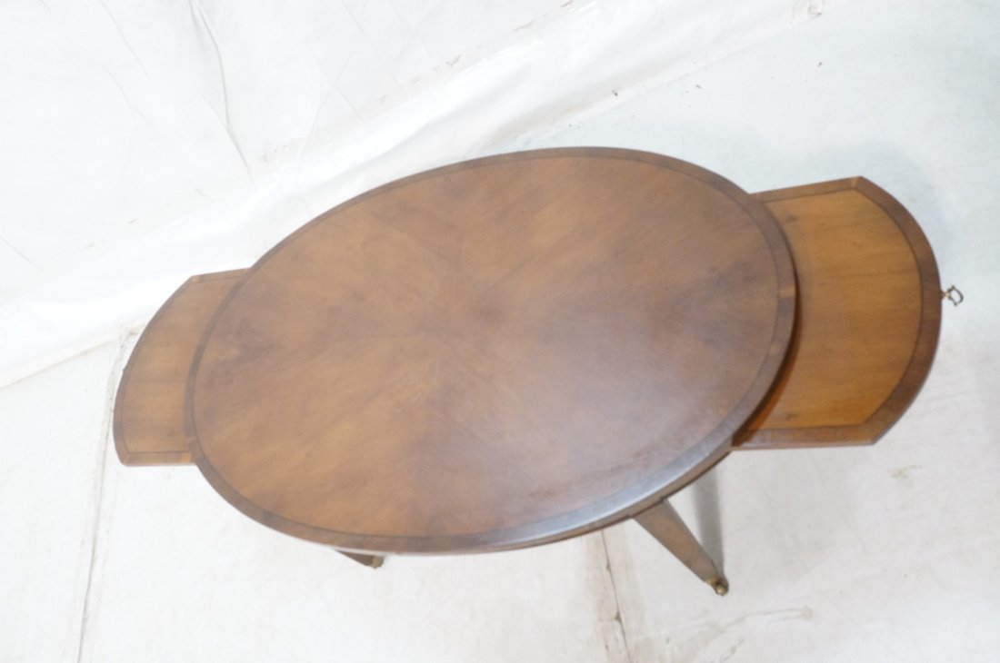 Oval Mahogany Coffee Table. OLD COLONY Furniture. - 3