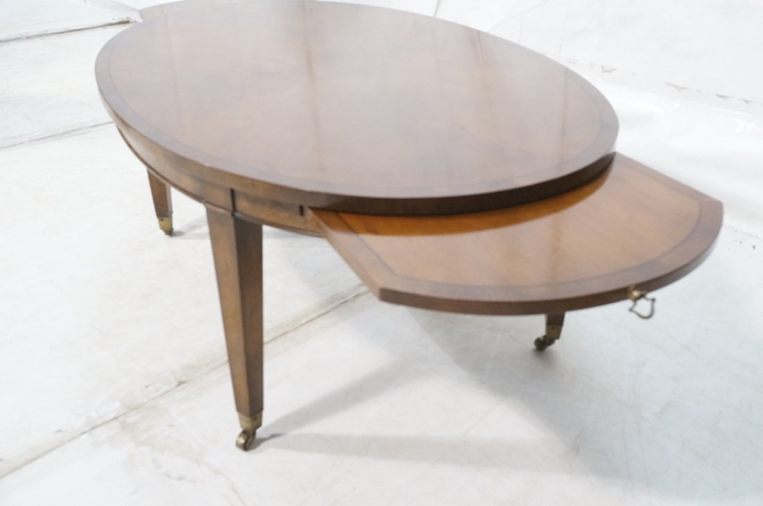 Oval Mahogany Coffee Table. OLD COLONY Furniture. - 4