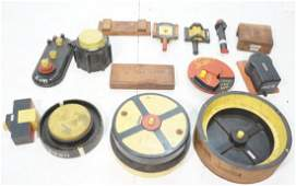 14 Piece Industrial Mold lot All different shape